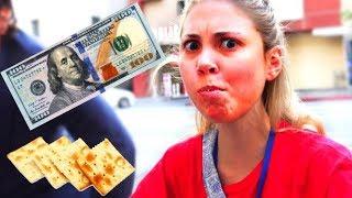 $100 PRANK, IMPOSSIBLE CHALLENGE!!