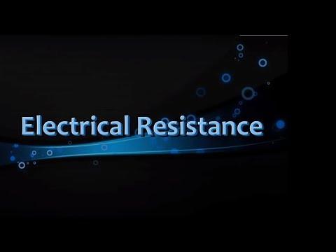 Electrical Resistance - Iken Edu