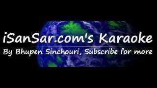 sagar sari chokho maya...karaoke