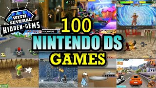 100 Nintendo DS (NDS) Games In…