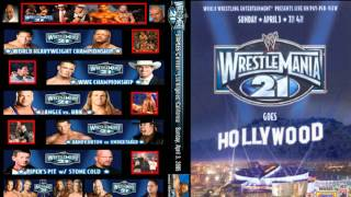 WWE Wrestlemania 21 First Theme Song Full+HD