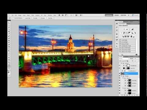 Сведение HDR в Photomatix