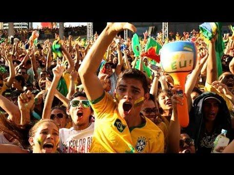 Joy For Brazil Fans As World Cup Kicks Off, Mood Improving On Streets Of Brazil!!!