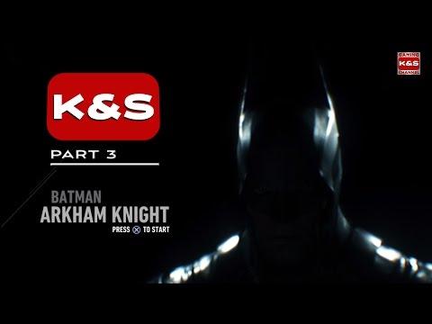 Batman Arkham Knight Walkthrough Gameplay Part 03 (PS4/1080p)