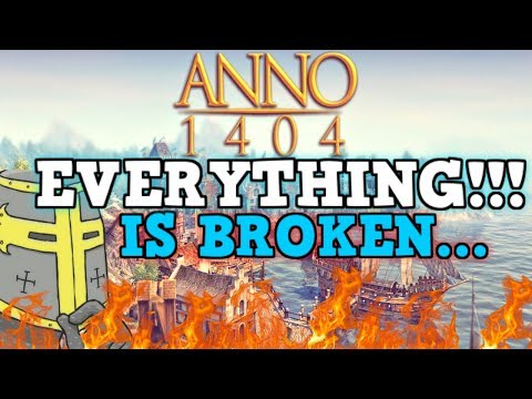ANNO 1404 IS A PERFECTLY BALANCED GAME WITH NO EXPLOITS - Colonize Everything!