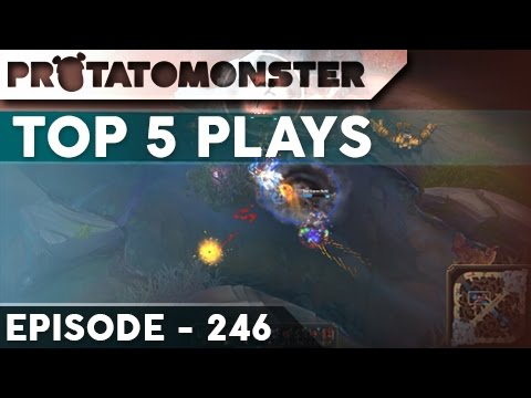 League Of Legends Top 5 Plays Week 246