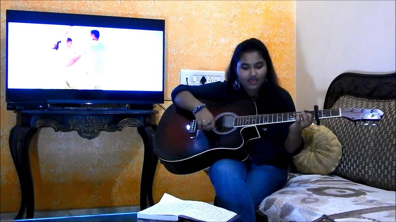 Sapna Jahan - Guitar Cover By Riya - YouTube