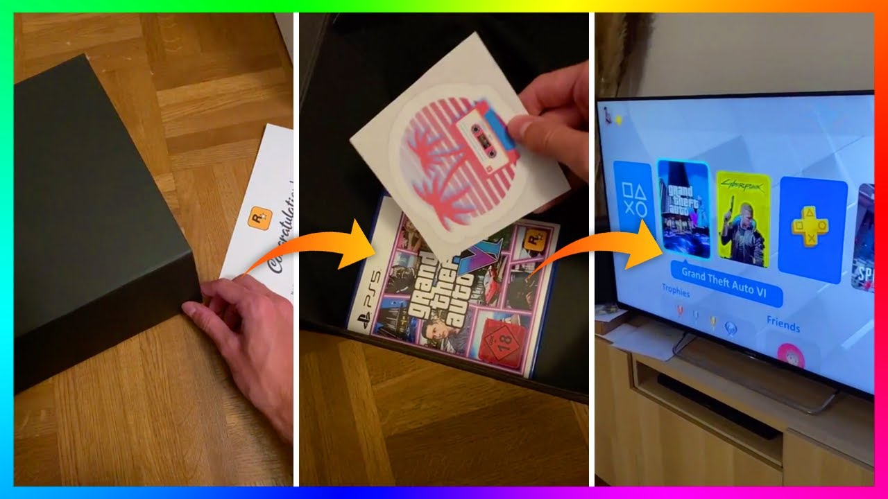 GTA 6 UNBOXING...How This Fan Has Convinced The Entire World He Has The Game EARLY Explained!