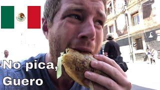 Gringo Probando Comida Callejera en Mexico (por la primera Vez) |Tim Explicame