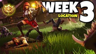 Fortnite: Hunting Party Week 3 Secret Battle Star Location