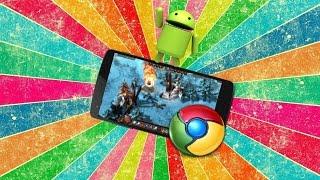 Как играть в браузерные игры с телефона