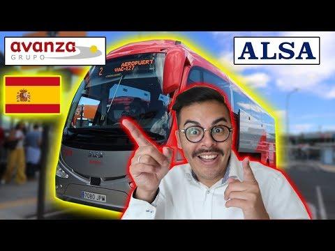 🔴 🇪🇸 Como Es VIAJAR En BUS Por ESPAÑA?│ AVANZA Vs ALSA