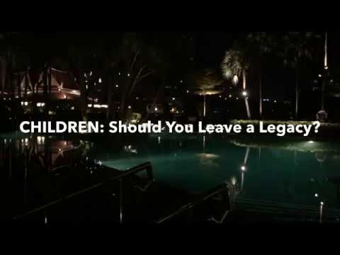 Leaving a Legacy is a Trap for Men! MGTOW and Children