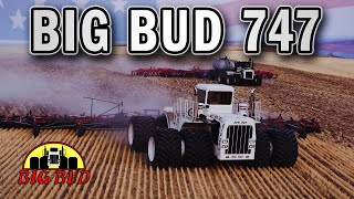 World's LARGEST Tractor Returns to the Fields - Big Bud 747