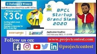Bharat Petroleum Corporation Limited (BPCL) Startup Grand Slam (2020) I Funding 50 lakhs