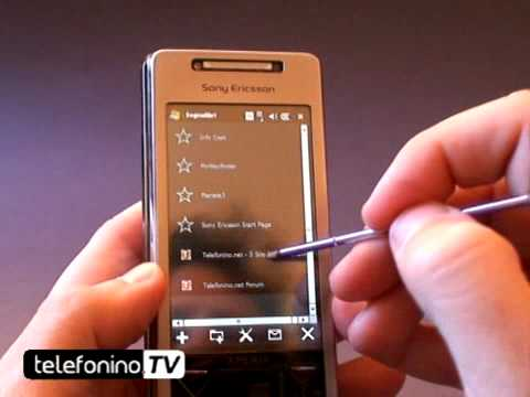 Sony Ericsson xperia X1 videoreview parte 1 telefonino.net