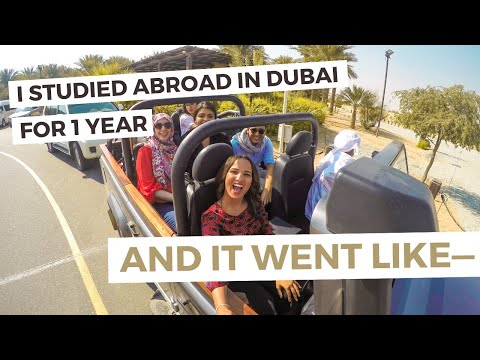 DUBAI, UAE | 1 year study abroad & $40K in scholarships in 1 minute 🇦🇪✈️