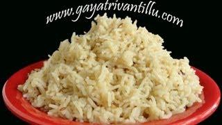 Caramel Rice - Sweet Pulao - Indian Recipes - Andhra Telugu Vegetarian Food Cuisine Vantalu