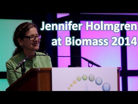 Jennifer Holmgren at Biomass 2014