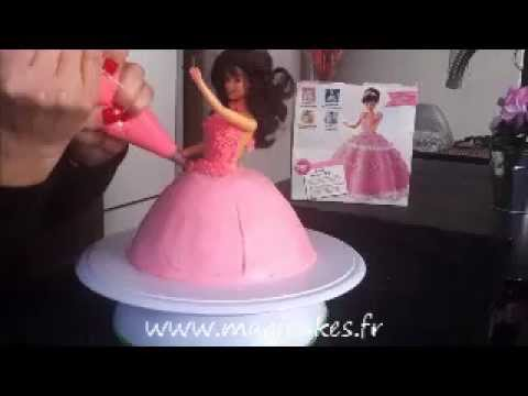 tutoriel g teau princesse 3d youtube. Black Bedroom Furniture Sets. Home Design Ideas