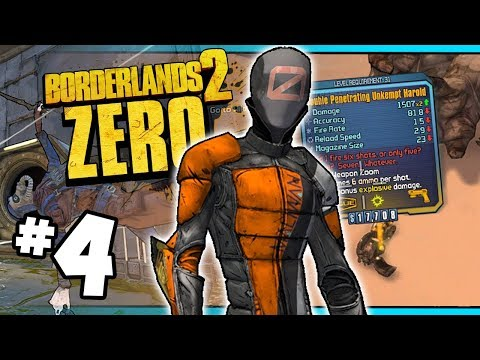 DP UNKEMPT HAROLD?!?! - Road to Ultimate Zer0 | Day #4 [Borderlands 2]