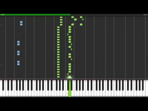 How to play the Knight Rider theme on piano