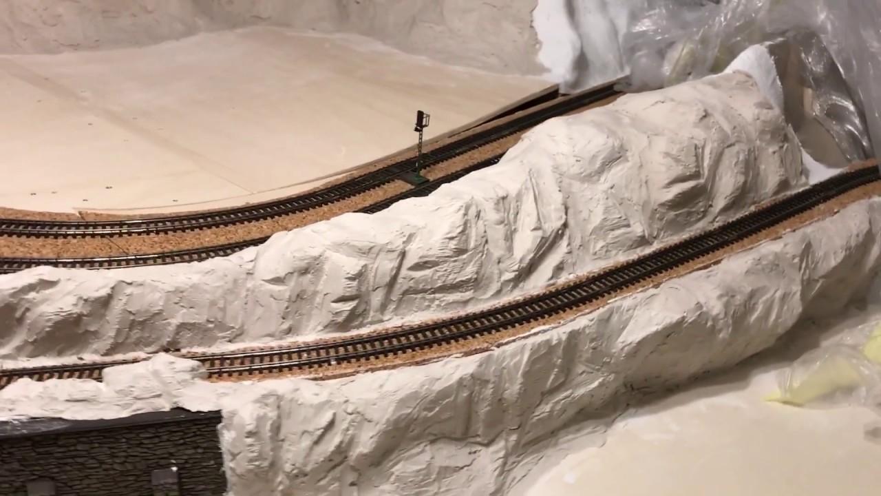 landschaftsbau modelleisenbahn ho
