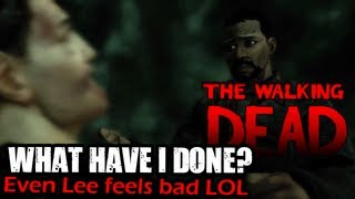 The Walking Dead: Episode 2 PART 5: Barn from Hell!