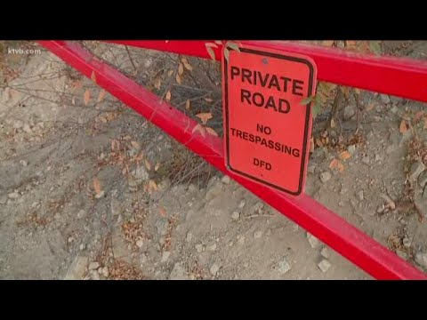 Texas billionaire brothers install gates and no trespassing signs on Forest  Service road in Idaho