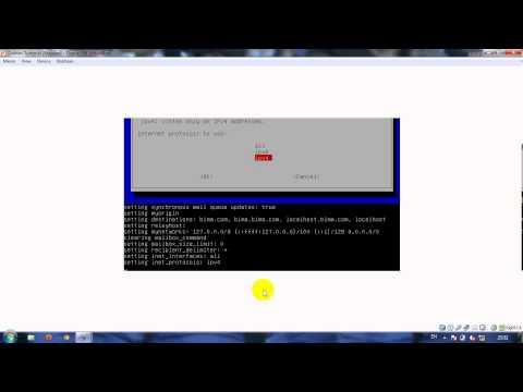 Cara install squirrelmail di debian menggunakan virtual box