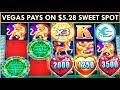 FIRST $100 in VEGAS = BIG PROFIT! Tree of Wealth Slot Machine