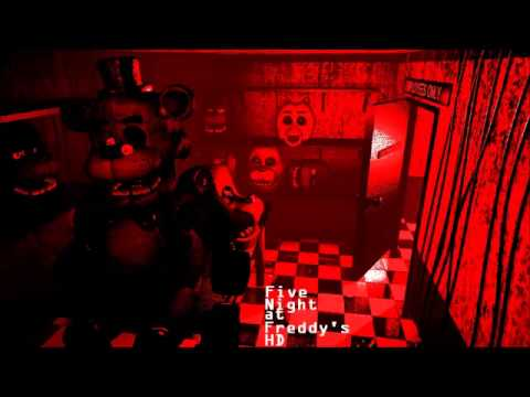 Warning gore fnaf security guard being stuff inside a suit fnafhd