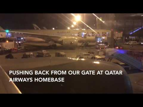 Qatar Airways Business Class Boeing 777-200 Doha (DOH) - Philadelphia (PHL)