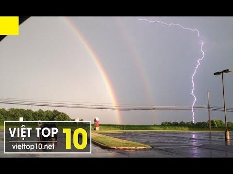 Vì sao có Cầu Vồng, chạm tay vào thì sao? 🌈 Top 10 Hiện Tượng Cầu Vồng Quái Dị – Việt Top 10