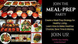 Need a meal-prep strategy? don't know where to start? feel lil overwhelmed at the thought of prepping? join party and learn how have fun p...