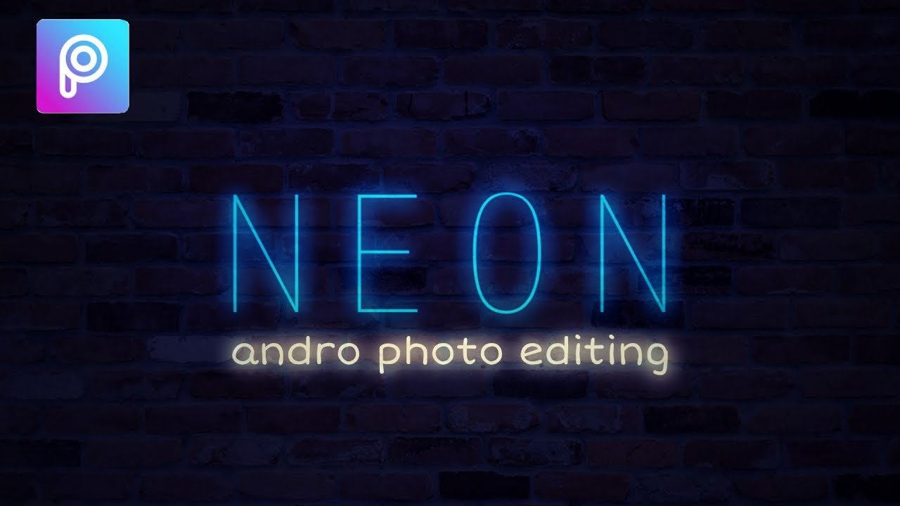 How to Make Neon Text In Picsart
