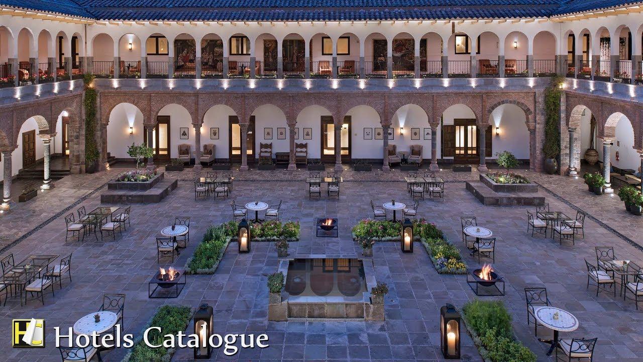 Jw Marriott El Convento Cusco Hotel Tour 5 Star In Peru