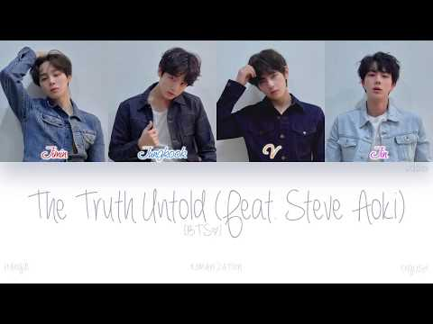 [HAN|ROM|ENG] BTS (방탄소년단) - The Truth Untold (전하지 못한 진심 (Feat. Steve Aoki)) (Color Coded Lyrics)
