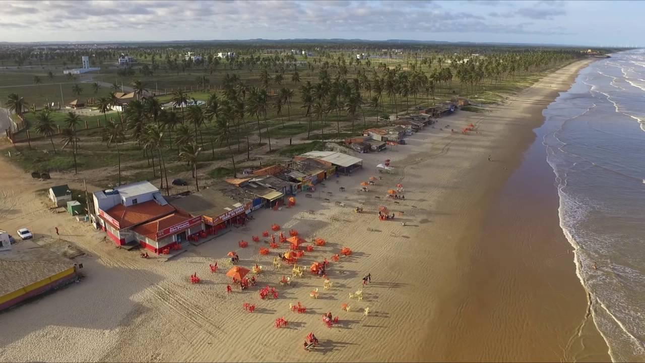 Praia da costa, Barra dos Coqueiros - SE - YouTube
