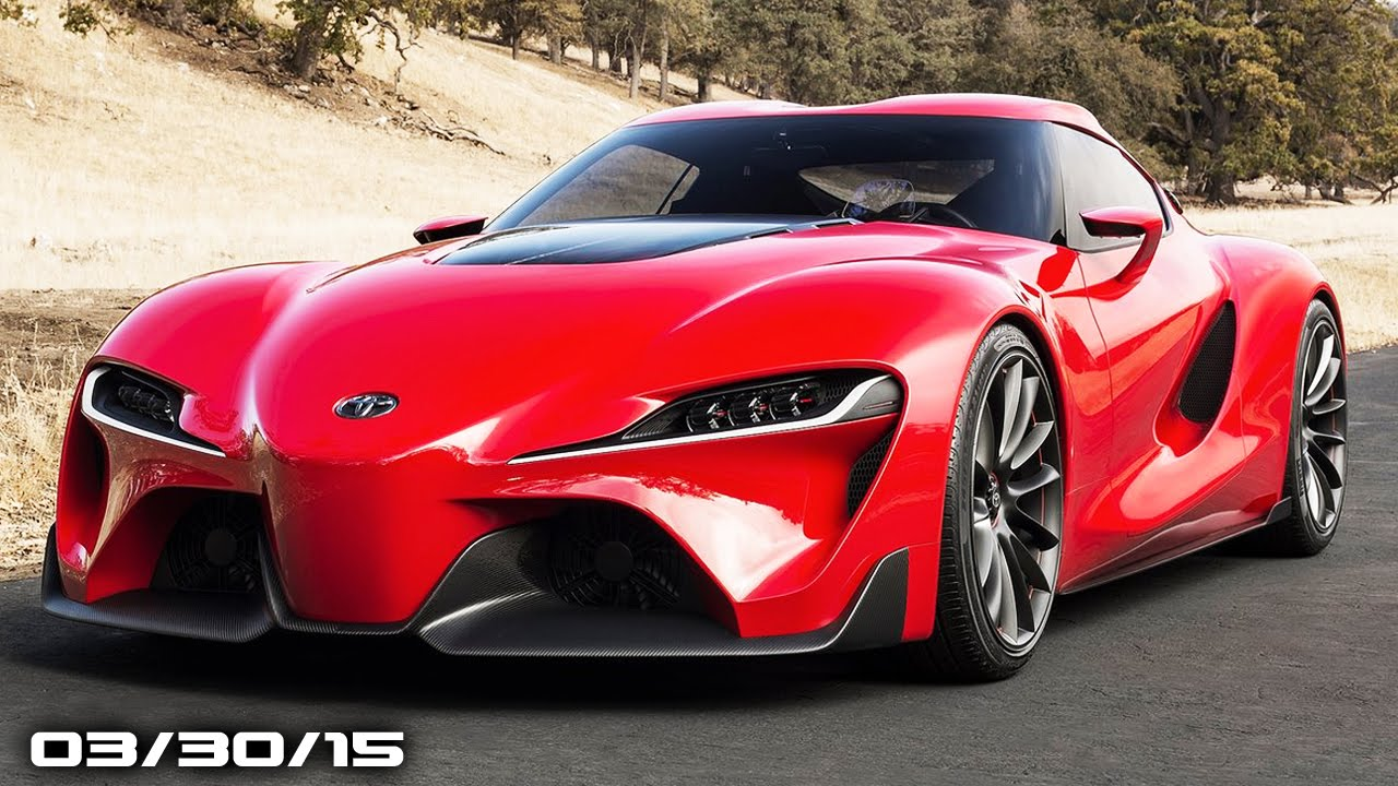 Toyota Supra Engine, Lincoln Continental Concept, Mercedes Pickup Truck    Fast Lane Daily   YouTube
