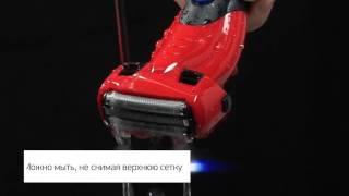 Сеточная роторная электробритва мужская для влажного и сухого бритья Panasonic ES-SL41-R520. Обзор.