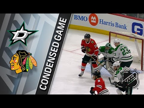 02/08/18 Condensed Game: Stars @ Blackhawks