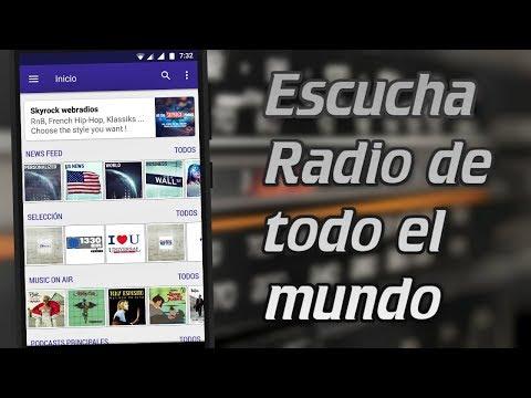 La mejor Aplicación para escuchar la RADIO de todo el mundo | Más de 35 Mil emisoras