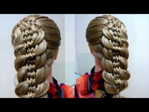 Уроки плетения косичек. Причёски для начинающих