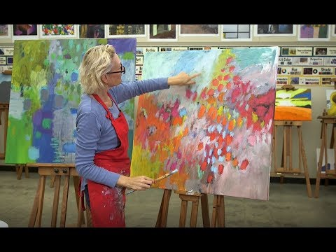 CREATING ABSTRACT ART:  TUTORIAL - ABSTRACTLY YOURS TV SHOW, EPISODE 3 thumbnail