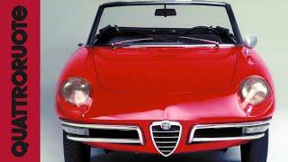 La spider de Il Laureato: Alfa Romeo Duetto Classic Test Drive