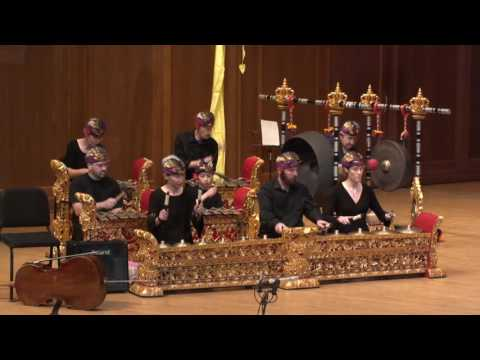 Bebarisan - Lawrence Academy of Music Gamelan Sekar Kemuda - 05.21.17