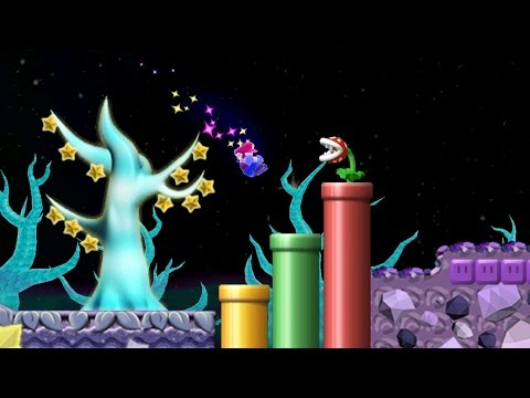 Newer Super Mario Bros. Wii -  Starry Skies (Complete World 7)