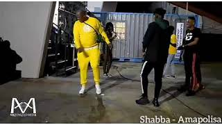 MAMPINTSHA DANCING ON AMAPOLISA BY SHABBA CPT