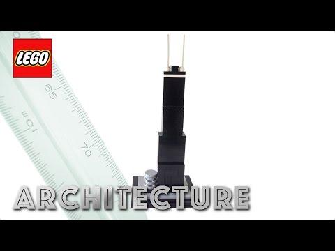 LEGO Architecture John Hancock Center Review! LEGO 21001